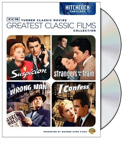 TCM Greatest Classic Films Collection: Hitchcock Thrillers (Suspicion / Strangers on a Train / The Wrong Man / I Confess) Picture