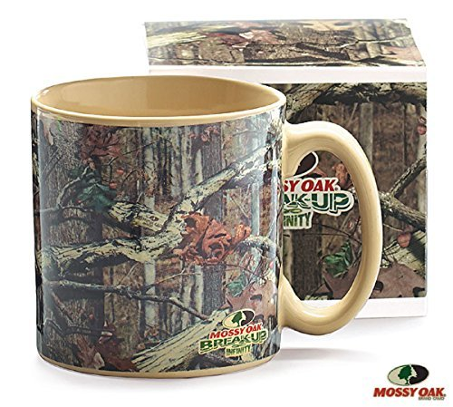 Mossy Oak Camouflage 13 oz Coffee Mug with Gift Box Great for Hunters (Camouflage Coffee Mug compare prices)