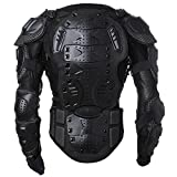 51042DKRnfL. SL160  Mens Motorbike Motorcycle Protective Body Armour Armor Jacket Guard Bike Bicycle Cycling Riding Biker Motocross Gear Black (X Large) Reviews