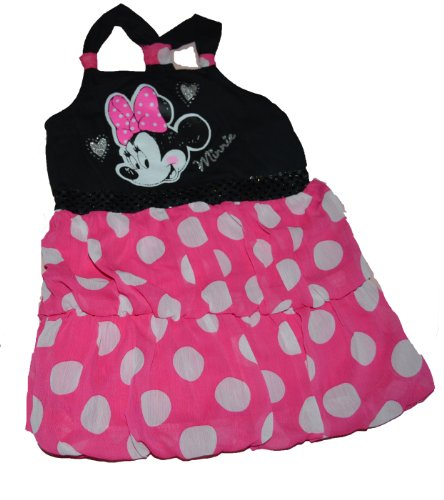 Disney Toddler Minnie Sequin and Chiffon Sleeveless Dress