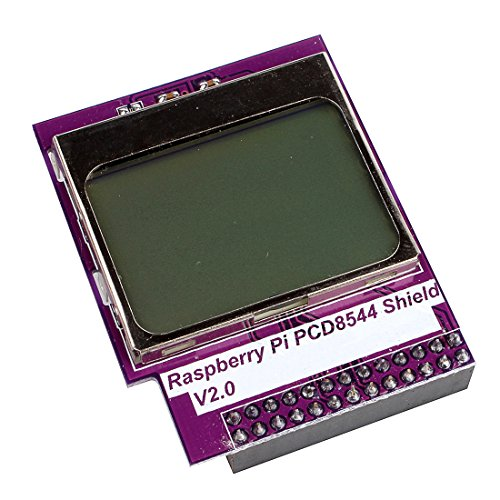 Jbtek® Raspberry Pi Cpu / Ram Usage Mini Lcd Display 84X48 Pcd8544 Shield For Raspberry Pi Model B+ & Raspberry Pi Model B
