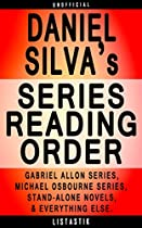 Daniel Silva Series Reading Order: Series List - In Order: Gabriel Allon Series, Michael Osbourne Series (listastik Series Reading Order Book 20)