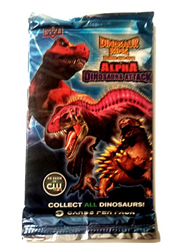 Upper Deck Dinosaur King Alpha Dinosaurs Attack (1 Pack) - 1