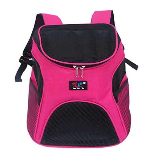 beautylife77 nylon pet carrier rucksack vorne hunde tasche shouderbag nylon rose einheitsgr e. Black Bedroom Furniture Sets. Home Design Ideas