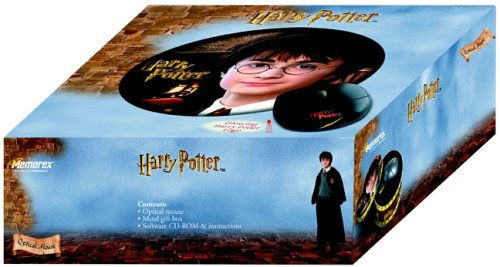 Harry Potter Optical Mouse in Metal Box