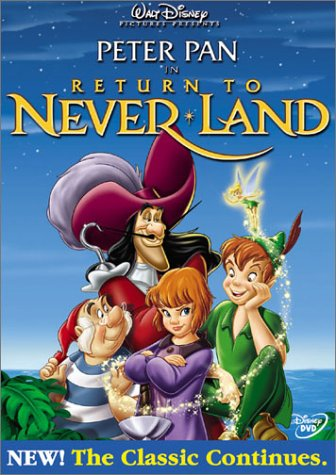 Peter Pan in Return to Never Land (Peter Pan And The Pirates Dvd compare prices)