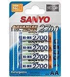 Sanyo Mignon AA 2700mAh NiMH Akku 4er Set