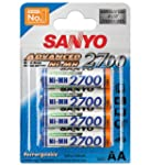 Sanyo Mignon AA 2700mAh NiMH Akku 4er...