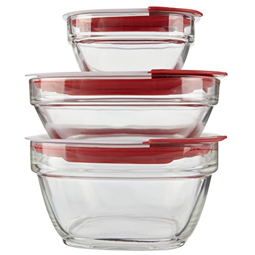 Rubbermaid Easy Find Lid Glass Food Storage Container 6