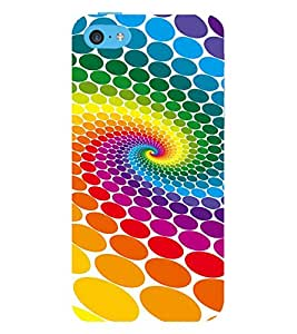 Vizagbeats Color Dots Back Case Cover for Apple iPhone 4::Apple iPhone 4S