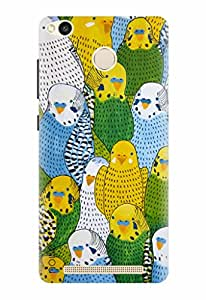 Noise Designer Printed Case / Cover for Xiaomi Redmi 3S Prime / Nature / You Re A Bird Design