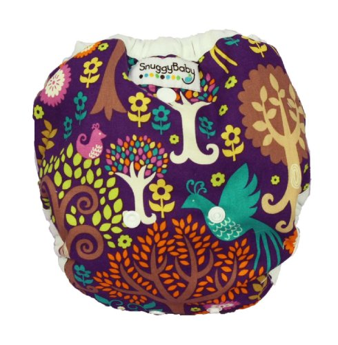 Snuggy Baby AI2 Diaper Cover - Fantasy Forest