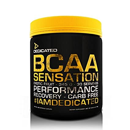 Dedicated Nutrition BCAA Sensation - 345g - 30 Servings (Mango Strawberry)