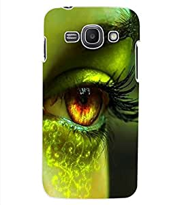 ColourCraft Lovely Eye Design Back Case Cover for SAMSUNG GALAXY ACE 3 LTE S727
