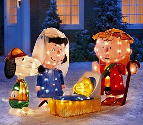 Peanuts Outdoor Christmas Decorations.Christmas Peanuts Yard Displays Christmas Wikii