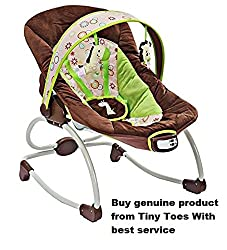 Mastela Newborn To Toddler Rocker - 6909 (Brown)