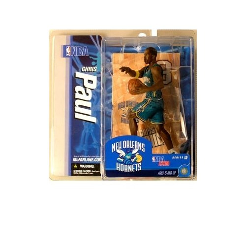 McFarlane Toys NBA Sports Picks Series 12 Action Figure Chris Paul (New Orleans Hornets) Teal Uniform