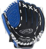 """Rawlings Sporting Goods Players Series Gloves, 10.5"""", Left Hand, Blue/Black/Grey"""