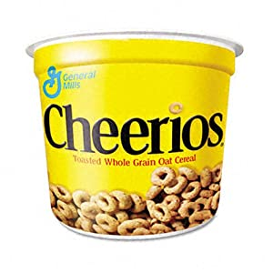 Cheerios Cereal, 1.3-Ounce Cups (Pack of 60)