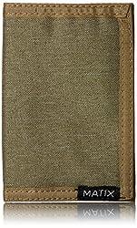 Matix Men's Standard Wallet, Army, One Size