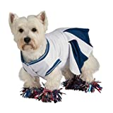 Deluxe Cheerleader Pet Costume, Small Picture
