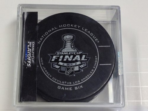 2012 NHL Stanley Cup Finals New Jersey Devils Vs. LA Kings Game 6 Puck