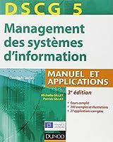 DSCG 5 - Management des systèmes d'information - 3e édition - Manuel et applications