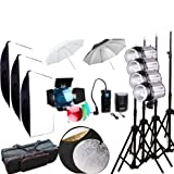 Godox expert photographer 1000Ws Studio Flash Strobe Light Lighting Lamp Head with Trigger Softbox Kit