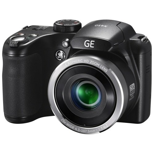 General Imaging X450-BK 16MP Digital Camera with 2.7-Inch LCD (Black)