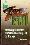 Ed Parker's The Zen of Kenpo (0910293104) by Parker, Ed