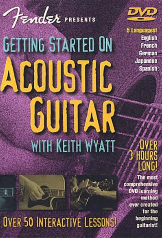 Fender Presents: Getting Started On Acoustic Guitar [2002] [DVD]