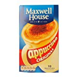 Maxwell House Cappuccino 10 Pack 170g