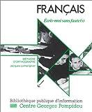 echange, troc Jacques Lemarignier - Français : Ecris-moi sans faute(s) - Méthode d'orthographe (1 livre + coffret de 10 cassettes)