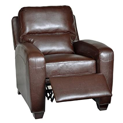 Brice Club Recliner Color: Harlee Brown