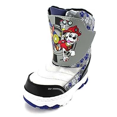 Amazon.com: Paw Patrol Kids Winter Snow Boots: Shoes