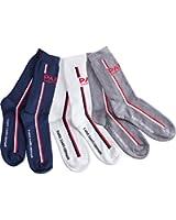 Lot de 3 paires de chaussettes PSG - Collection officielle PARIS SAINT GERMAIN - Homme