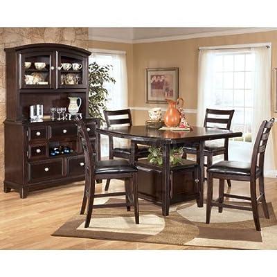 Amazon Com Ridgley Counter Height Dining Room Set By