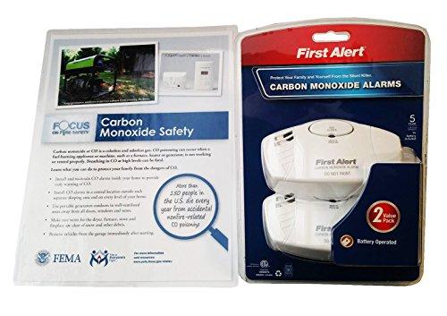 Carbon Monoxide Detectors CO2 Alarm Bundle of 2 (Carbon Monoxide Detector Camper compare prices)