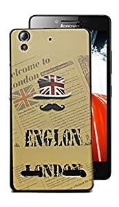Ecellstreet Exclusive Designer Printed Soft Back Case Cover Back Cover For Lenovo A6000 / A6000 Plus A6000 + - London