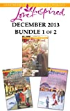 img - for Love Inspired December 2013 - Bundle 1 of 2: Sugarplum Homecoming\Amish Christmas Joy\The Lawman's Holiday Wish book / textbook / text book