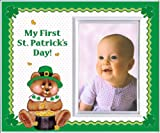 My First St. Patricks Day Picture Frame Gift and Decor