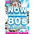 Now That's What I Call A Music Quiz - The 80s  [Interactive DVD]