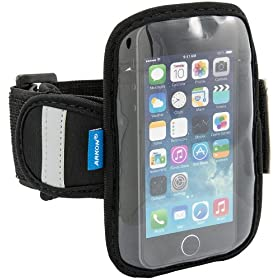 "Arkon Sports Running Jogging Neoprene Armband for iPhone 5S 5C and Smartphones up to 4.3"" Screen Size"
