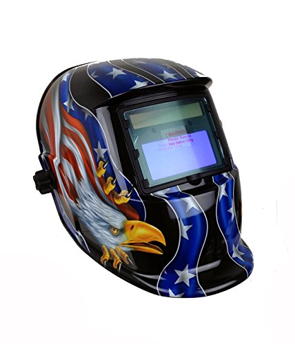 Sale!! Instapark ADF Series GX-350S Solar Powered Auto Darkening Welding Helmet with Adjustable Shad...