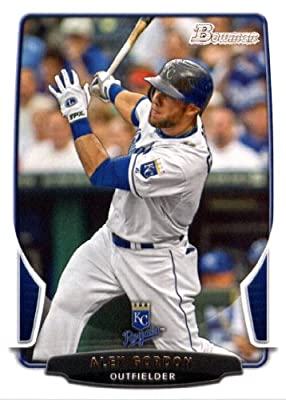 2013 Bowman Baseball Card #191 Alex Gordon - Kansas City Royals - MLB Trading Card