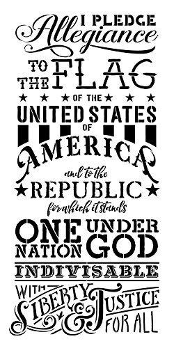 pledge-of-allegiance-word-stencil-12-x-24-stcl1250-2-by-studior12-by-studio-r-12