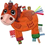 Vital Innovations Label Friends LL-FR1210 Cuddly Toy In Horse Design Brown By Vital Innovations