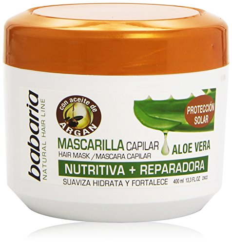 Babaria Hair Mask Aloe Vera Plus Argan Oil 400ml
