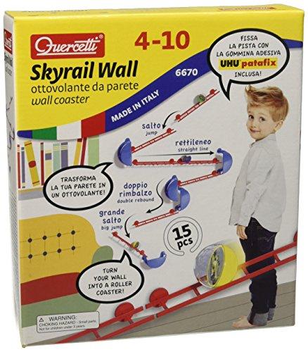 Quercetti 06670 - Gioco Skyrail XL Wall