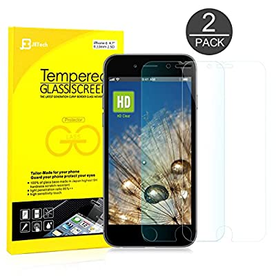 Premium Tempered Glass iPhone 6 6S Screen Protector from Jetech